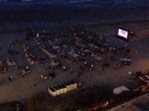 Folly Beach Movie Night